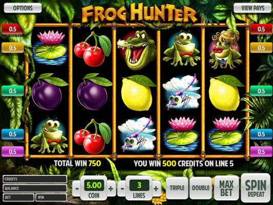 New Video Slot: Frog Hunter - Out Now!
