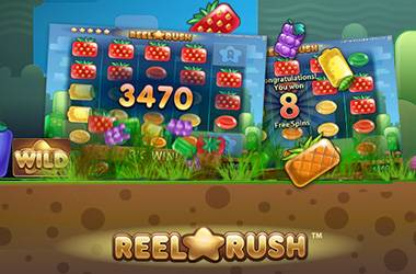 NetEnt's Reel Rush Now Live!