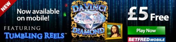 Da Vinci Diamonds Has Gone Mobile!