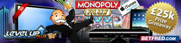 Make A Fortune At Betfred With New Monopoly Plus Slots