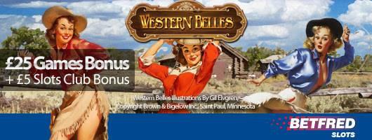 Get Your Hands On Wild Wins in Western Belles slot!