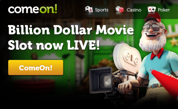 New Slot Billion Dollar Movie, Plus Get 100 Free Spins!