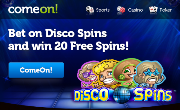 Get 20 Free Spins On New Slot Disco Spins