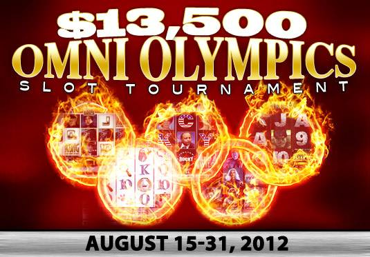 Get Ready For Omni Casino's 13.5K Olympics Slot Tournament!
