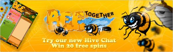 Free spins At Bee Together From Paf
