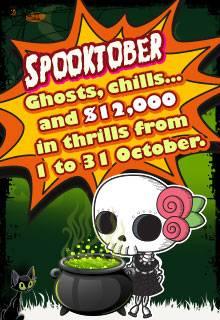 Spooktober: Over $12,000 In Fantastic Treats At Platinum Play!