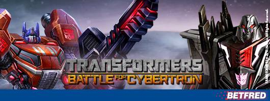 Transformers At Betfred Casino And Games