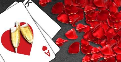 Romance is in the air at Zodiac Casino!
