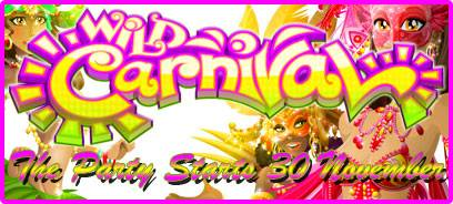 New Tropica Casino Game Launch, Wild Carnival!