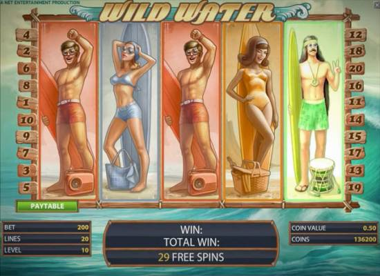 Wild Water Slot Coming Soon