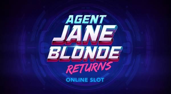 Microgaming's Lead Heroine Agent Jane Blonde Returns