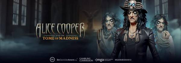 Get Ready for The Next Play'n GO Rock Slot – Alice Cooper and The Tome of Madness