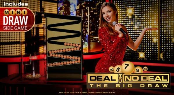 Playtech's New Live Deal or No Deal – The Big Draw Available Now