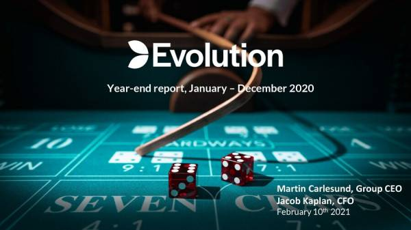 Evolution Posts Strong 2020 Earnings