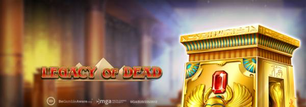 Play'n GO Releases First Game of 2020 – Legacy of Dead