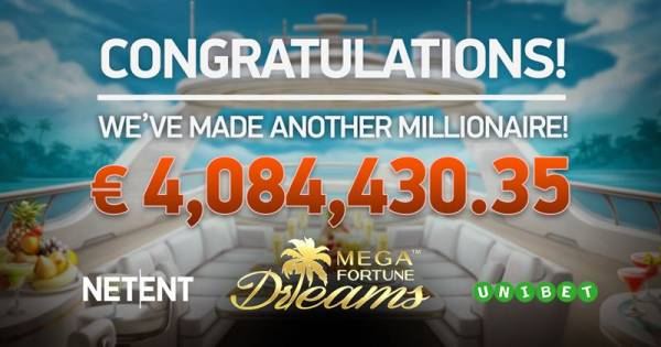 NetEnt's Mega Fortune Slots Pay Over €6.7 in Jackpots on Same Day