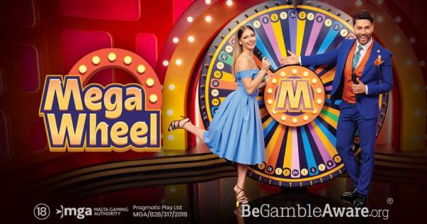 Pragmatic Play Launches First Live Show Game – Mega Wheel