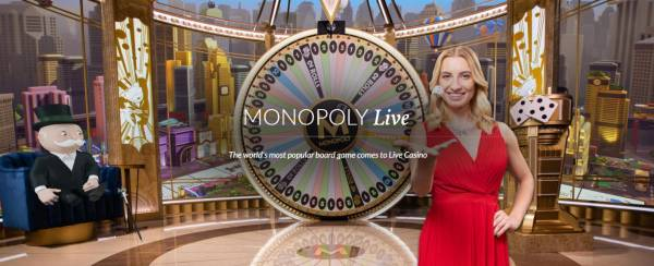 Monopoly Live Money Wheel by Evolution Out Now