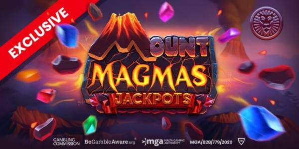 Push Gaming's First Jackpot Slot Mount Magmas Goes Live Today