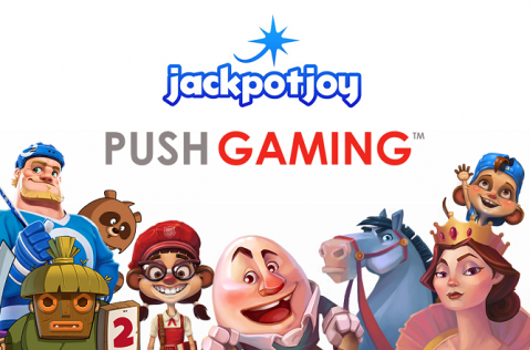 Push Gaming Mobile Slots to Launch on Jackpotjoy Group Casinos