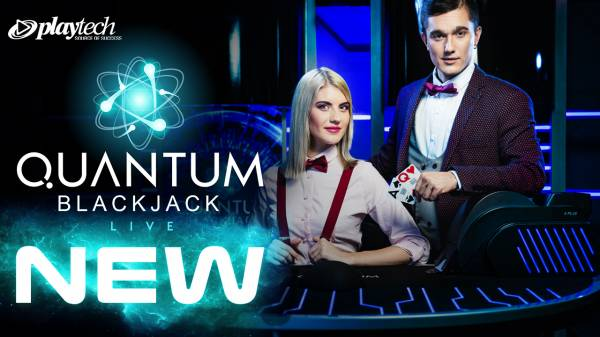 Playtech Launches First Ever Live Slots Game and Quantum Blackjack