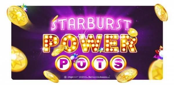 NetEnt Launches Community Jackpot System: Starburst PowerPots