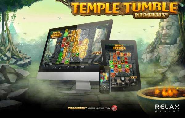 Relax Gaming Releases New Flagship Slot Temple Tumble Megaways