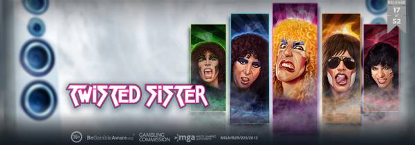 Play'n GO Invites to Rock With New Twisted Sister Grid Slot