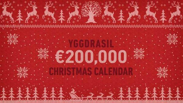 Yggdrasil's €200,000 Christmas Calendar Campaign Goes Live in December