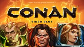 NetEnt Reveals Upcoming Conan Video Slots™ Features
