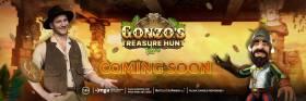 Evolution Launch Gonzo's Treasure Hunt Live