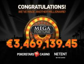 €3.5 Million Mega Fortune Jackpot Goes to German PokerStars Player