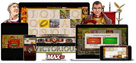 NetEnt Classics Relaunch: Victorious Max and Reel Rush 2