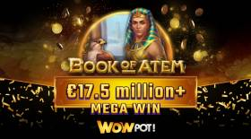 Microgaming's WowPot Mega Jackpot Strikes €19.5 Million in One Week