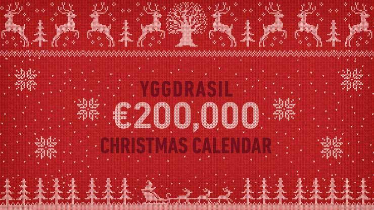 Yggdrasil Announces Christmas Calendar Campaign